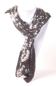 silversequinscarf