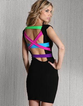 Quontom_neon_strappy_back_dress_at_asos_com