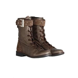 Next trend up to bat – Combat boots for women   Naomi, etc.